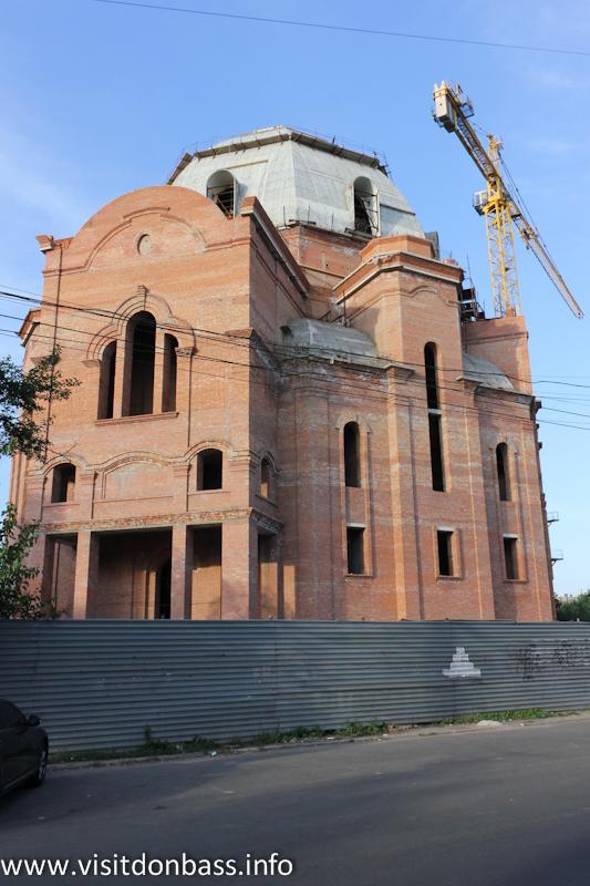 Новый мариупольский храм станет самым высоким в Донецкой области