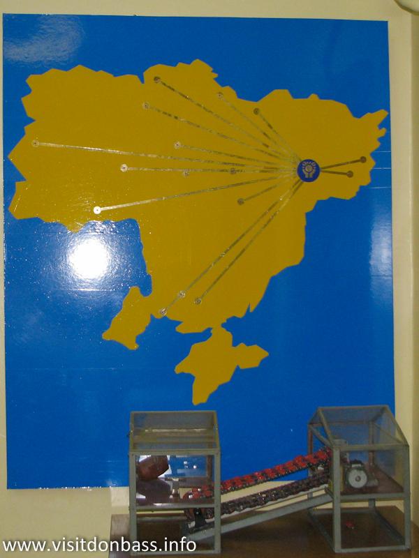 Странная карта Украины. Музей ЕМЗ