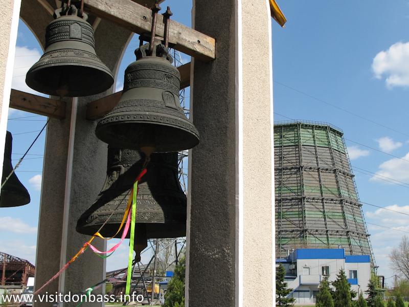 Церковь на территории предприятия - норма для группы Донецксталь
