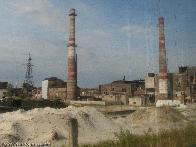 Трубы уже не дымят много лет, Константиновский МЗ, Донецкая область