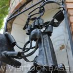 Скульптура из металла - скорее исключение, зоосад Докучаевск