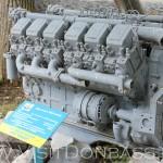 Такие двигатели устанавливали на БелАЗы, ЯМЗ 240м, музей Докучаевск