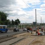 Летом 2009 года началась реконструкция окрестностей. Обновили гостиницу Шахтер, разбили новый парк, Донбасс Арена, лето 2009