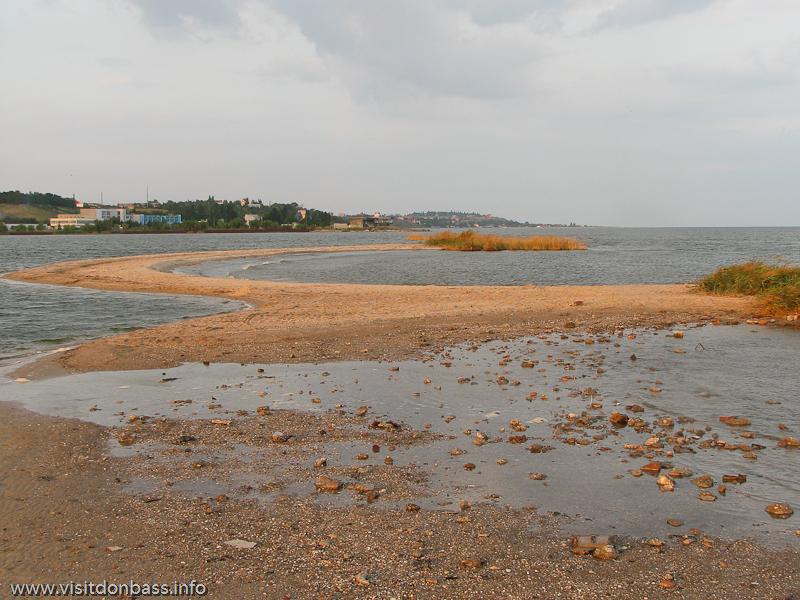 Азовское море и Бакаи в Сопино