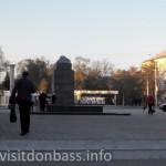 Памятник Ленину, площадь Победы Мариуполь