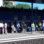 Первый рейс Мариуполь-Львов прибыл в Запорожье