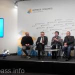 Пресс-конференция перед открытием выставки Украина-Бельгия в УКМЦ
