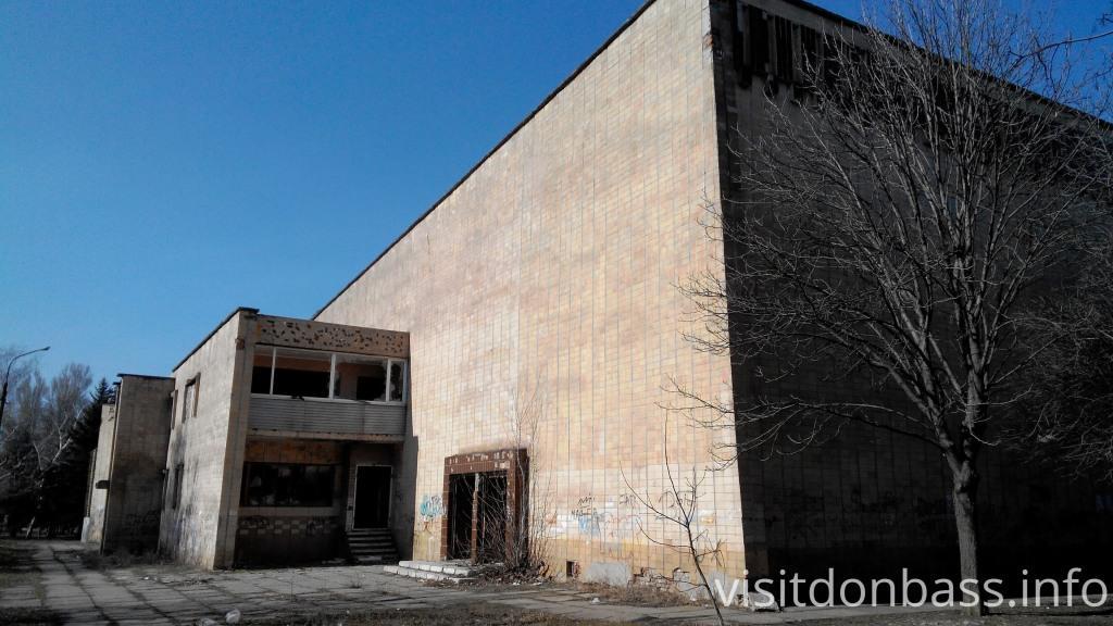 Тут была парикмахерская кинотеатр Союз Мариуполь