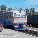Обновленная электричка Донецкой железной дороги
