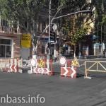 Въезд в центр Мариуполя закрыт - ремонт