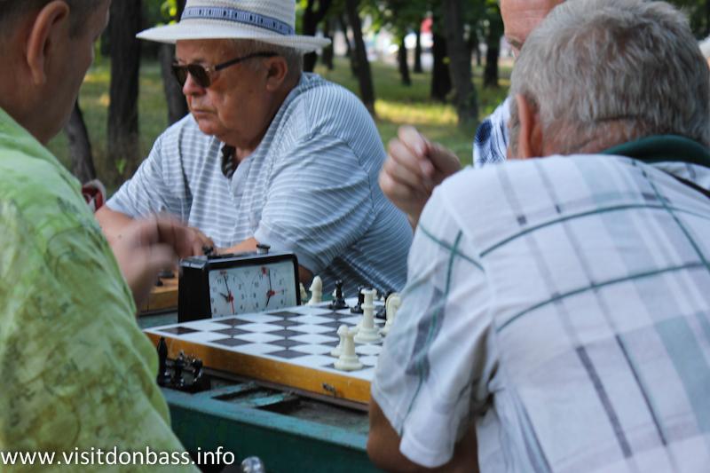 ... и играют в шахматы