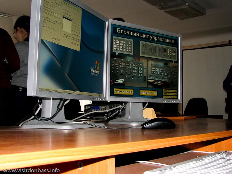 Действия операторов в экстремальных и аварийных ситуациях отрабатываются в виртуале, Кураховская ТЭС