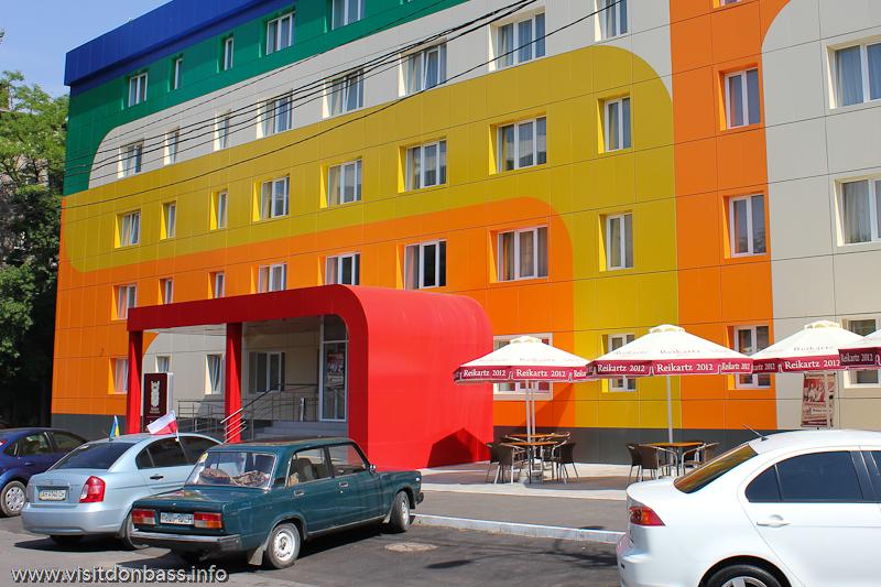 Гостиница Reikartz Мариуполь - первый сетевой отель в городе   Hotel Reikartz Mariupol