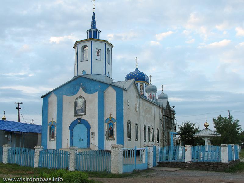 Необычная архитектура церкви в Коньково