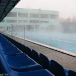 Трибуны, дорожки, табло - все готово к соревнованиям, бассейн Курахово