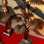 Один из призов в форме символа Донбасса - Пальмы Мерцалова, музей Азовсталь