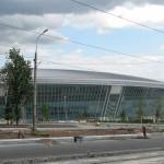 Красавец-стадион через несколько недель торжественно откроют, Донбасс Арена, лето 2009