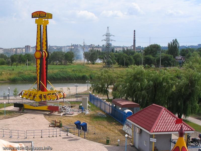 Лупинг - одно из самых экстремальных развлечений, Парк, Мариуполь