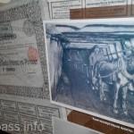 Акция шахты Рутченко и фото шахтера XIX века - конка