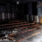 Останки малого зала кинотеатр Союз Мариуполь