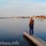 Рыбак на Белосарайке