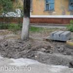 Замена бордюров на Пашковского