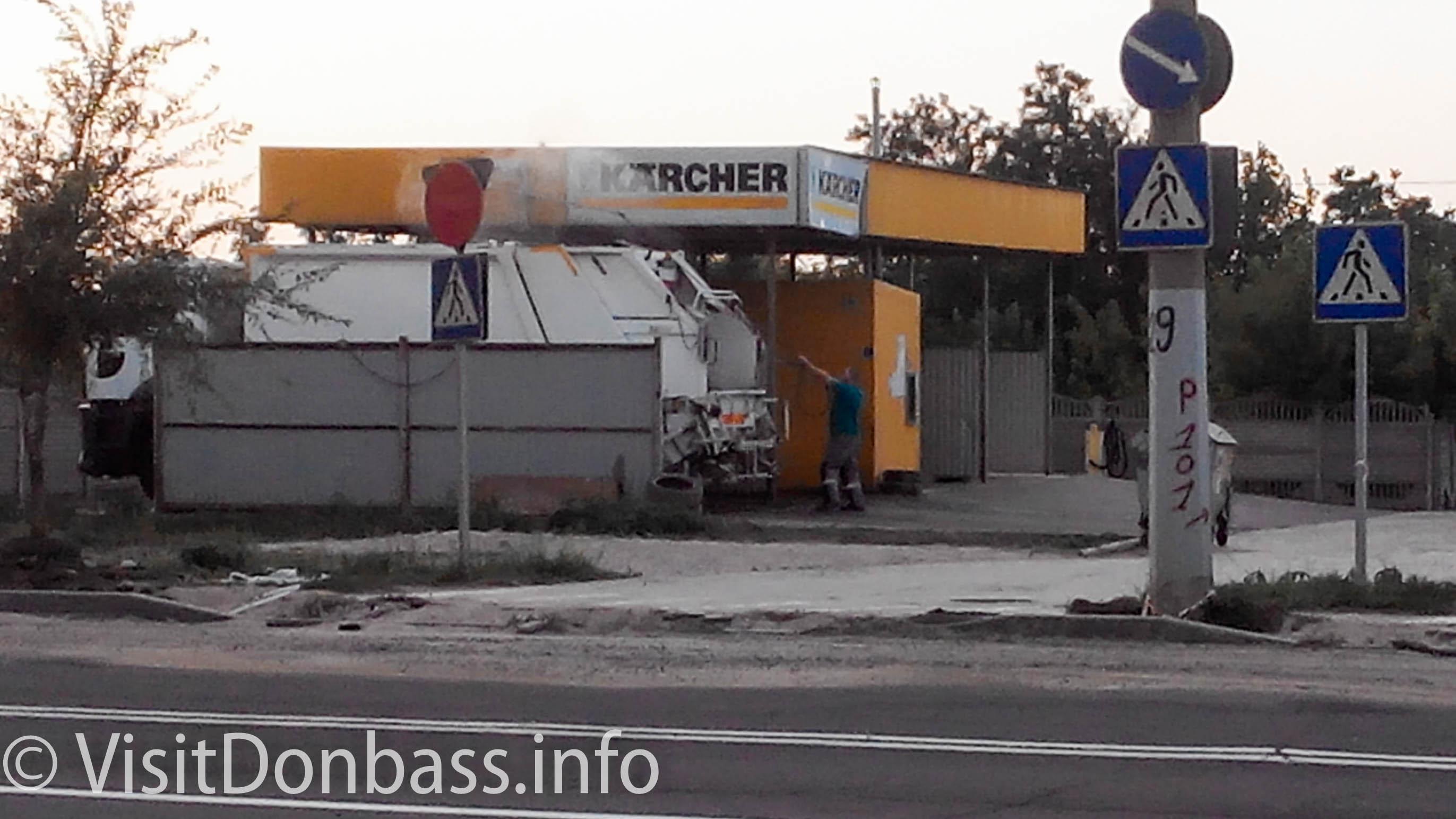 Водители сами моют свои машины