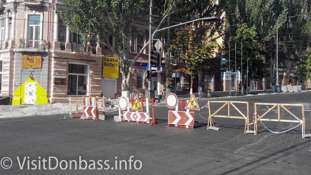 Проезд в центр Мариуполя закрыт. Реконструкция