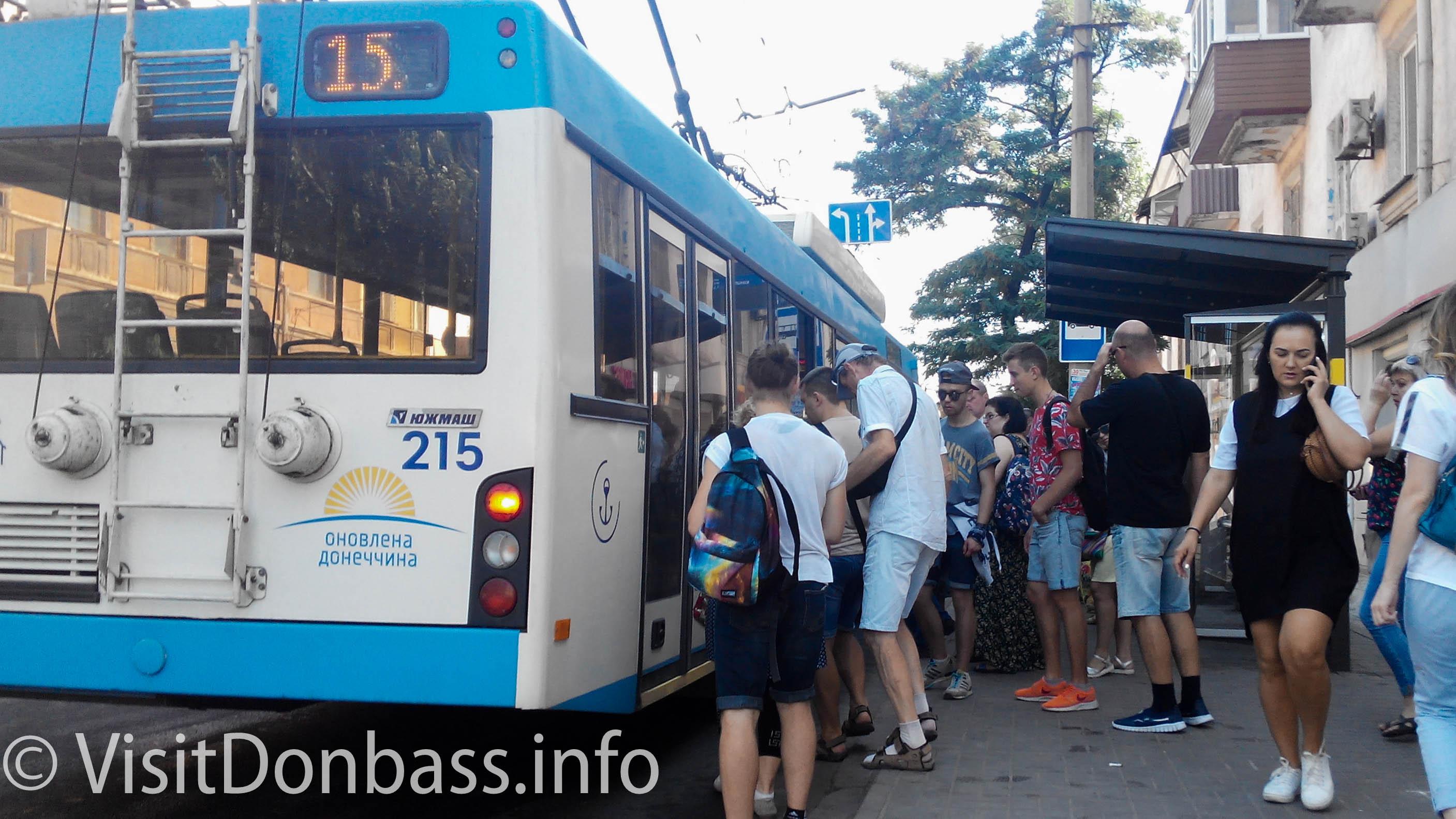 Коммунальный транспорт пользуется популярностью