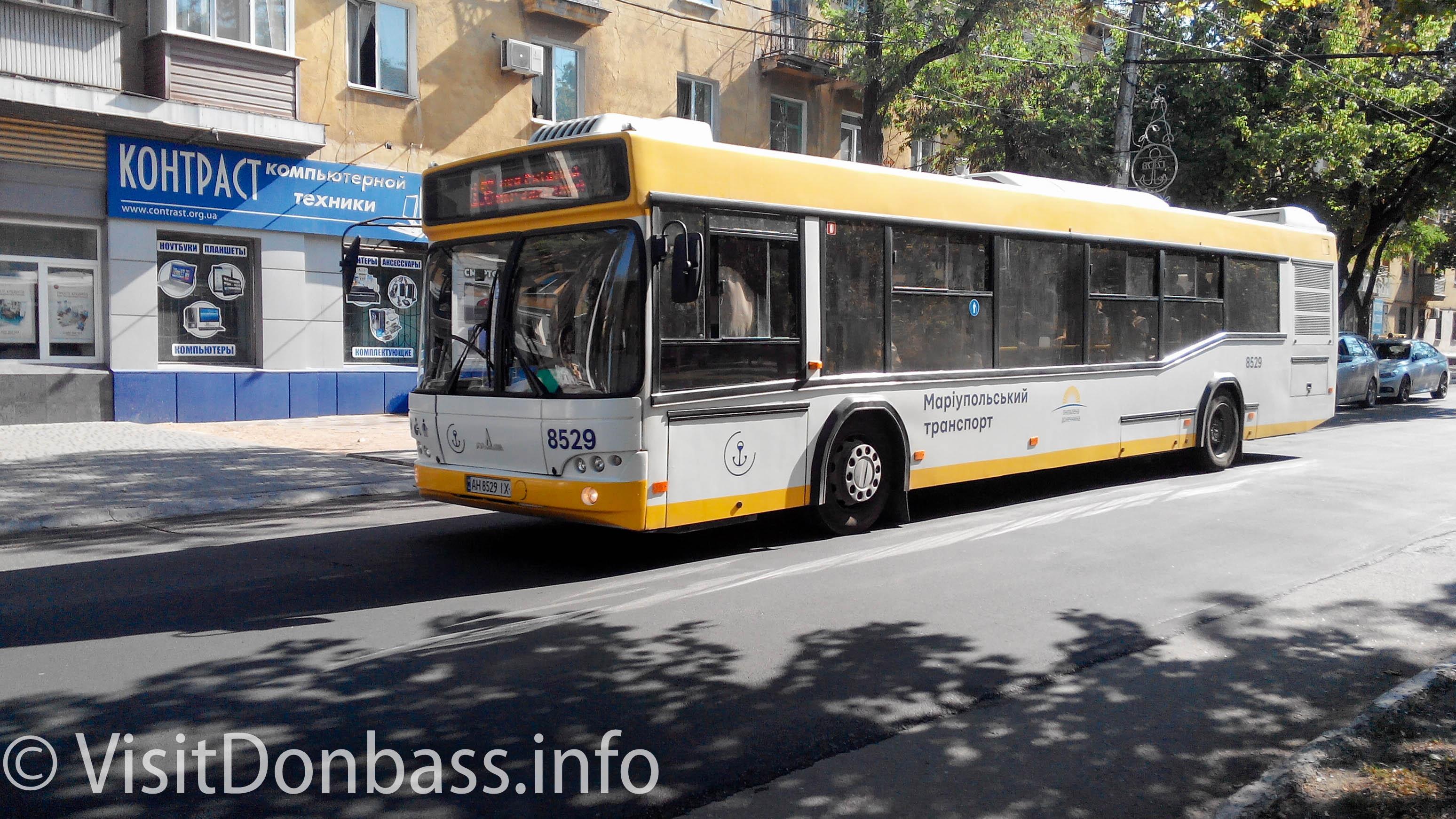 Новенькие автобусы принадлежат ТТУ